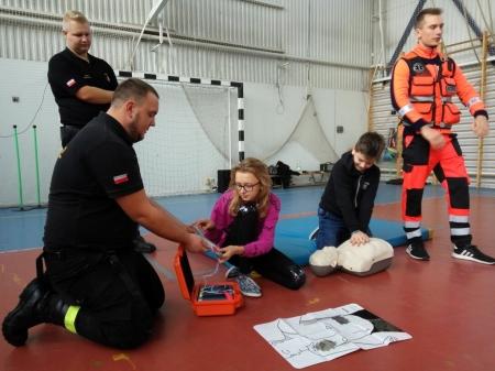 Pokaz ratownictwa medycznego OSP Pilaszków