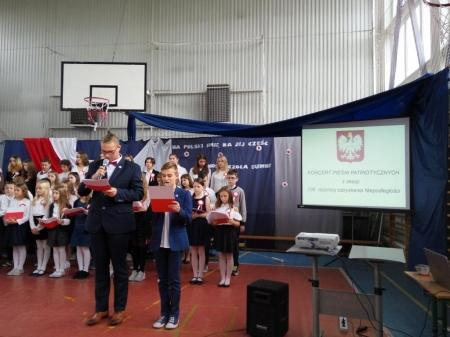 Koncert pieśni patriotycznych z okazji 100. rocznicy Niepodległości