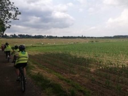Rowerowy projekt edukacyjny Étoile-cyclo 2019 USEP 41