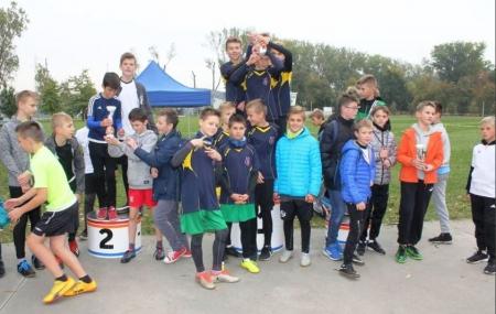 Sztafetowe biegi przełajowe dla szkół podstawowych z powiatu łowickiego