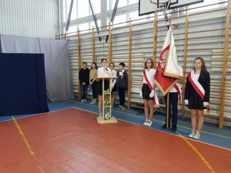 Apel z okazji 101. rocznicy odzyskania przez Polskę niepodległości