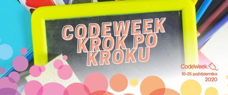 Zaproszenie na ósmą edycję CodeWeek - Europejski Tydzień Kodowania