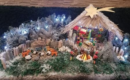 Łowicka Szopka Bożonarodzeniowa 2020