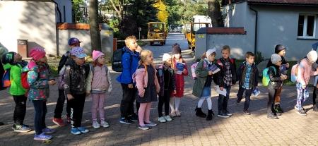 Wycieczka do Łodzi klasy 1a